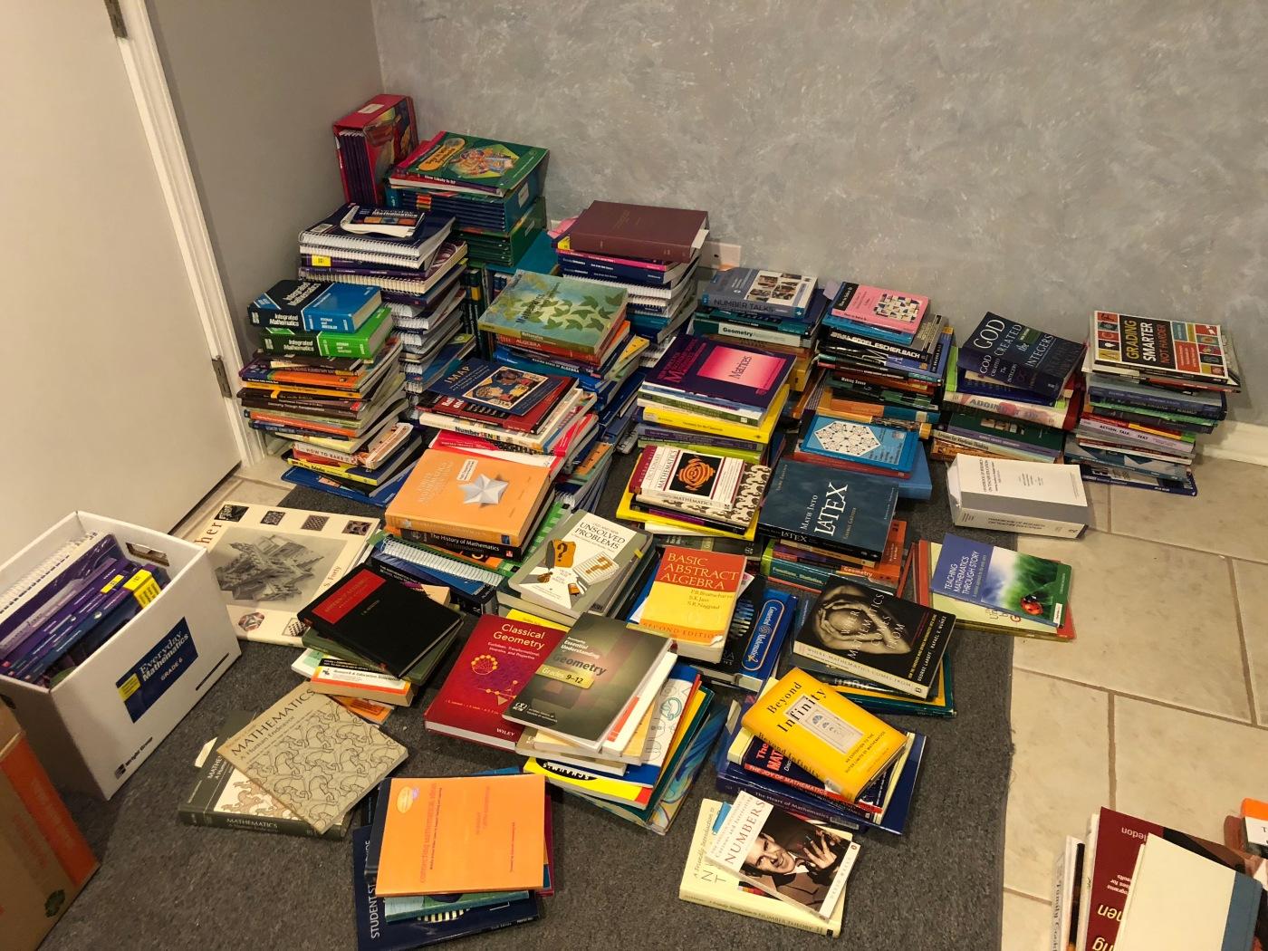Do your Math Books Spark Joy? – Math Book Magic