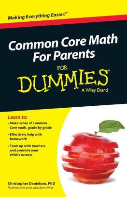 Common Core Math for Parents